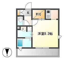 エスペランサ葵[6階]の間取り