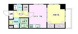 Palazzo Hashimoto Quinto[3階]の間取り