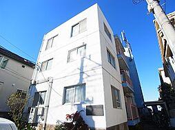 東京都町田市玉川学園5丁目の賃貸マンションの外観