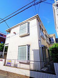 埼玉県新座市栗原6の賃貸アパートの外観