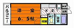 プレスト松香台[1階]の間取り