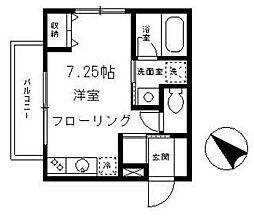 サンミッシェル渋谷[3階]の間取り