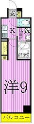 アルテカーサアリヴィエ東京EAST[1階]の間取り