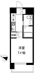 アース湘南台[4階]の間取り