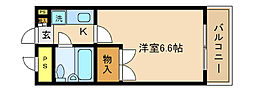 ジョイフル五香[305号室]の間取り