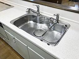 「設備:シンク」食材とお皿など用途に合わせて同時にお使いいただけます。