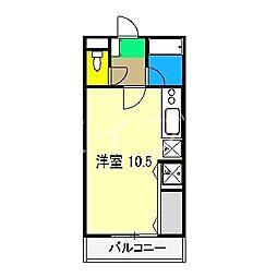 ウエストグランコート[3階]の間取り