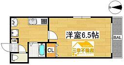 セレブマンション今宿[101号号室]の間取り