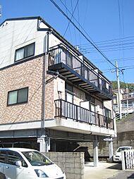 長崎県長崎市愛宕3丁目の賃貸アパートの外観