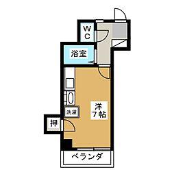 静岡県静岡市駿河区馬渕4丁目の賃貸マンションの間取り
