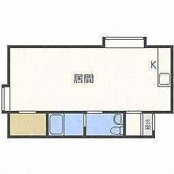 サンピア9丁目館[2階]の間取り
