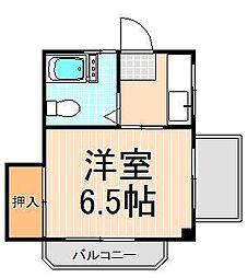 コーポ和田[301号室]の間取り