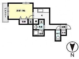 プレアール長尾II[2階]の間取り