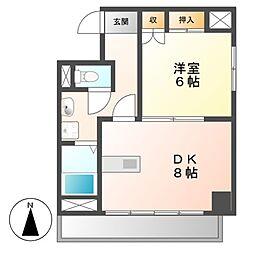 K−Point Bldg(ケイポイントビル)[9階]の間取り