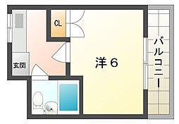 ネオロイヤル[2階]の間取り
