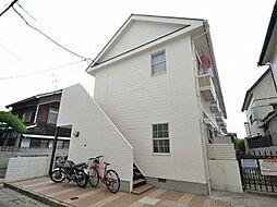 岡山県岡山市中区小橋町1丁目の賃貸アパートの外観