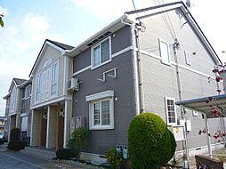 大阪府茨木市五十鈴町の賃貸アパートの外観