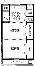 清水マンション[406号室]の外観