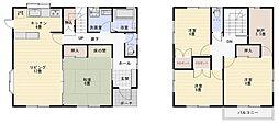 [一戸建] 福島県双葉郡富岡町小浜 の賃貸【/】の間取り