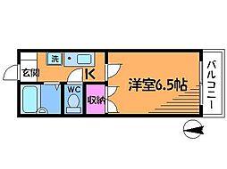 ウィステリアガーデン[1階]の間取り