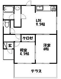 [一戸建] 静岡県袋井市浅岡 の賃貸【/】の間取り
