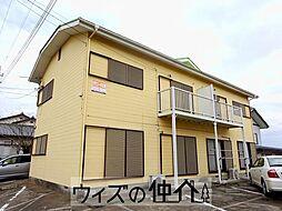 大竹コーポB[202号室]の外観