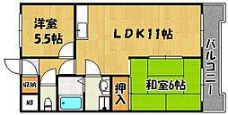 グランセリオ西神戸[2階]の間取り