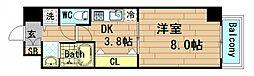 ロワジール クスノキ[5階]の間取り