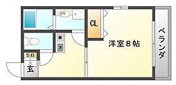 瀬ハイツ[2階]の間取り
