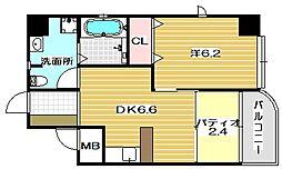 LA.REJOUIR[5階]の間取り