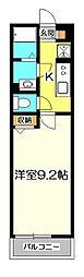 東京都立川市錦町5丁目の賃貸マンションの間取り