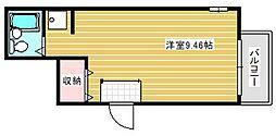 Room6[1階]の間取り