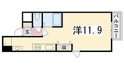 Maison Asahi[3-A号室]の間取り