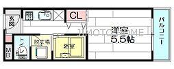 ニューセンチュリー[3階]の間取り