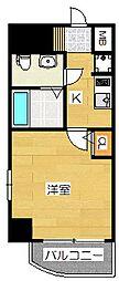 エステムコート博多・祇園ツインタワーファーストステージ[9階]の間取り
