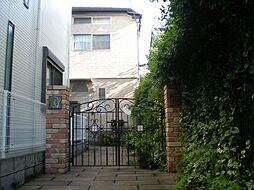 東京都目黒区中町1丁目の賃貸アパートの外観