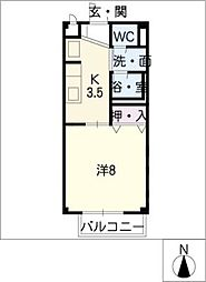 SURPLUS I FULLHOUSE[1階]の間取り