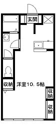 グリーンカーサ[2階]の間取り