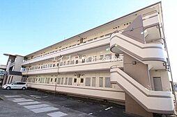 岡山県倉敷市松島の賃貸マンションの外観