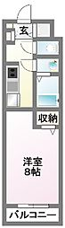 Y−ark tsudanuma[3階]の間取り