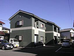 静岡県裾野市二ツ屋の賃貸アパートの外観
