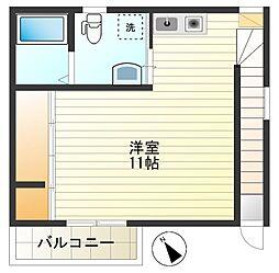 ツインコート多摩川[2階]の間取り