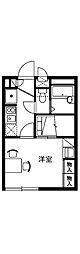 HINODE[2階]の間取り
