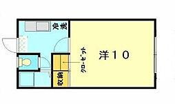 ルーラルハウス[1F号室]の間取り