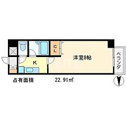 アーベイン吉田[2階]の間取り