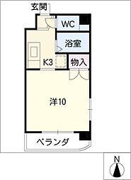 メルヴェーユ小幡 I[2階]の間取り