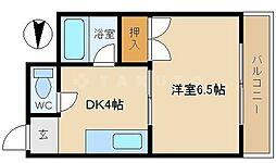 DS関目高殿[4階]の間取り