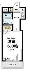 パールマンションII東伏見[2階]の間取り