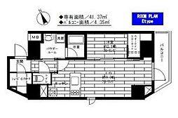 東京都台東区浅草橋3丁目の賃貸マンションの間取り