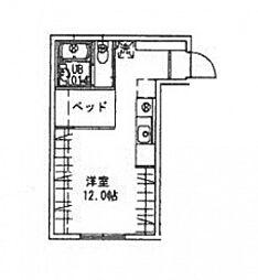 ハイドランジア草津[2階]の間取り